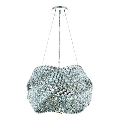 Electron 5-Light Crystal Chandelier