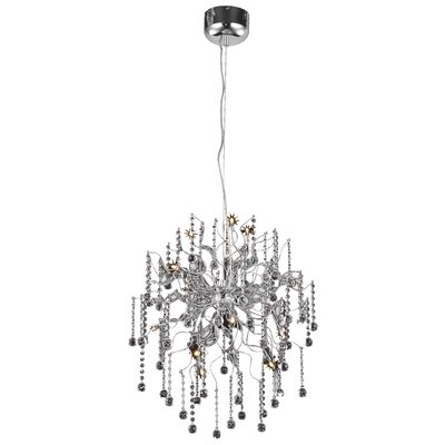 Astro 12-Light Crystal Chandelier