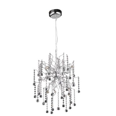 Astro 6-Light Crystal Chandelier