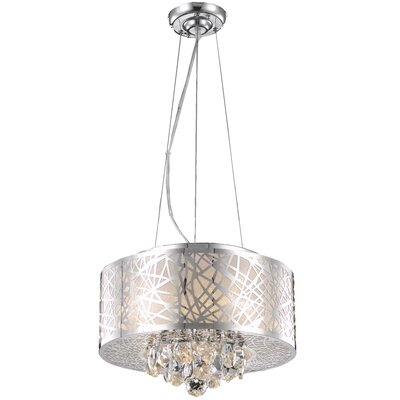 Athema 4-Light Drum Chandelier