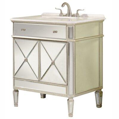 Camille 32 Bathroom Vanity Set Chest & Sink Set