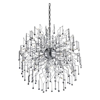 Astro 44-Light Crystal Chandelier