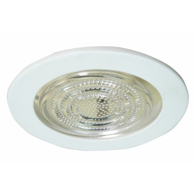 Line Voltage Shower 4 LED Recessed Trim