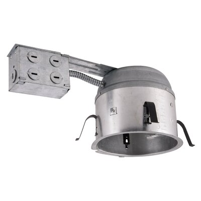 Line Voltage Remodel Non-IC Shallow 6 LED Recessed Housing