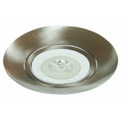 Gimbal 6 LED Recessed Trim Finish: Chrome