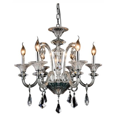 Ola 6-Light Candle-Style Chandelier