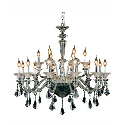 Ola 18-Light Candle-Style Chandelier