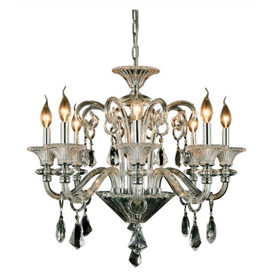 Ola 8-Light Candle-Style Chandelier