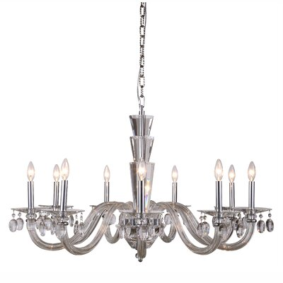 Felisa 9-Light Chain Candle-Style Chandelier