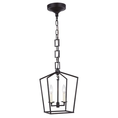 Isoline 2-Light Foyer Pendant Finish: Vintage Bronze