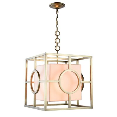 Nana 2-Light Foyer Pendant Finish: Polished Nickel