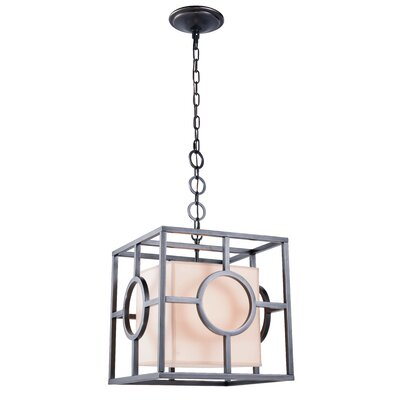Nana 1-Light Foyer Pendant Finish: Bronze