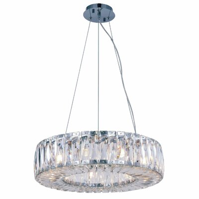 Isidora 9-Light Crystal Chandelier