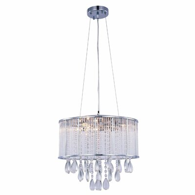 Scarlett 7-Light Drum Chandelier