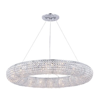 Hieronymus 18-Light Crystal Chandelier