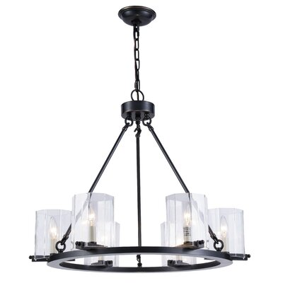 Matawan 6-Light Candle-Style Chandelier Finish: Bronze