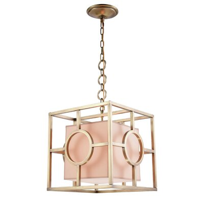 Nana 1-Light Foyer Pendant Finish: Burnished Brass