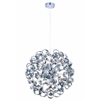 Maroneia Contemporary 9-Light Globe Pendant