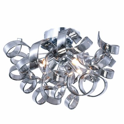 Maroneia Contemporary 4-Light Flush Mount
