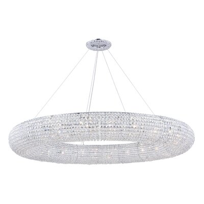 Hieronymus 24-Light Crystal Chandelier