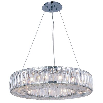 Isidora 15-Light Crystal Chandelier