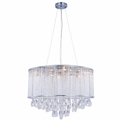 Scarlett 9-Light Drum Chandelier