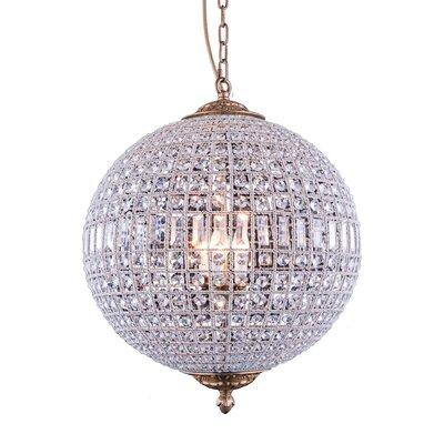 Olivia 5-Light Globe Pendant