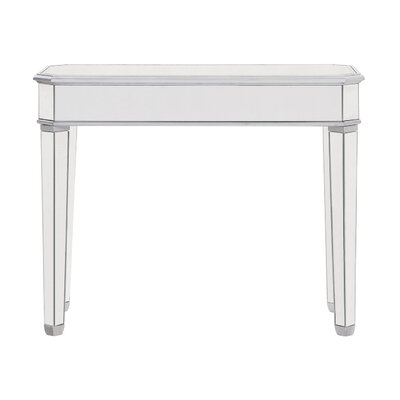 Orpha Glass Top Console Table