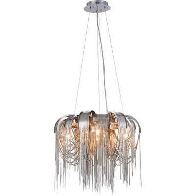 Veta 4-Light Waterfall Chandelier
