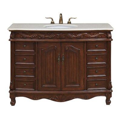 Schuyler 48 Single Bathroom Vanity Set