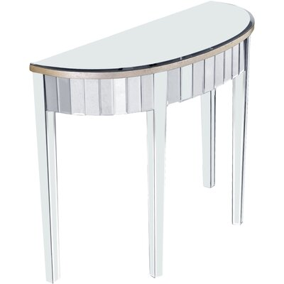 Mirage Curve Front Console Table