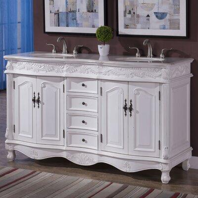 Torrey 60 Double Bathroom Vanity Set