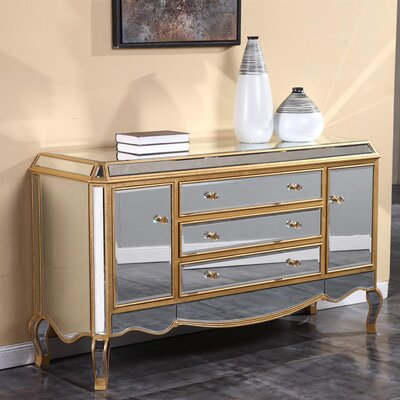Camille Sideboard Finish: Gold