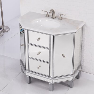 Reis 35 Single Bathroom Vanity Set