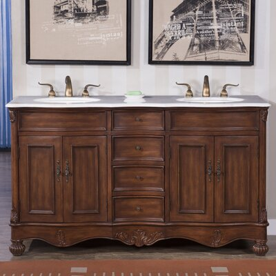 Windsor 60 Double Bathroom Vanity Set