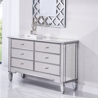 Orpha 6 Drawer Dresser