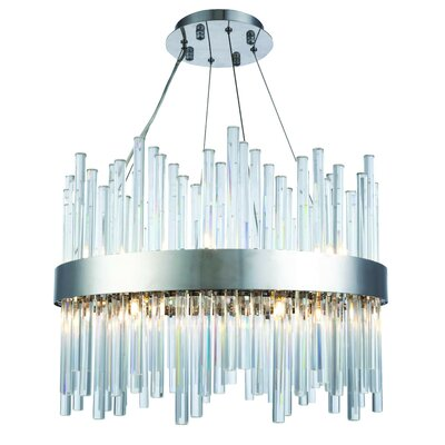 Perlo 14-Light Crystal Chandelier