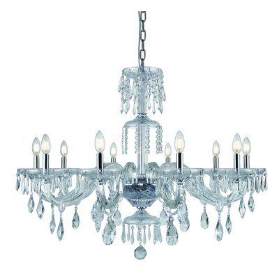 Deeanna 10-Light Candle-Style Chandelier