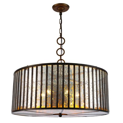 Frisco 6-Light Drum Pendant