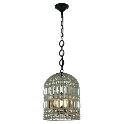 Hayley 3-Light LED Mini pendant Finish: Rustic Dark Bronze