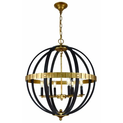 Closter 6-Light LED Globe Pendant