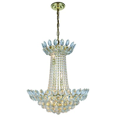Glendora 10-Light Empire Chandelier Finish: Gold
