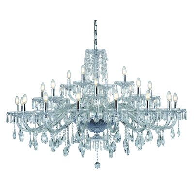 Deeanna 28-Light Candle-Style Chandelier