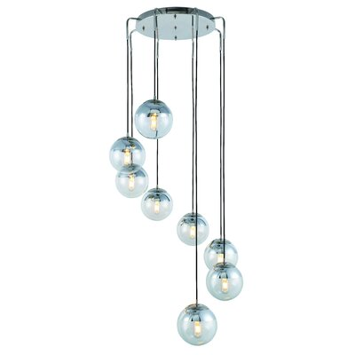 Simeone 8-Light Cascade Pendant