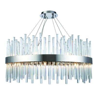 Perlo 18-Light Crystal Chandelier