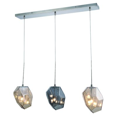 Cooley 3-Light LED Kitchen Island Pendant