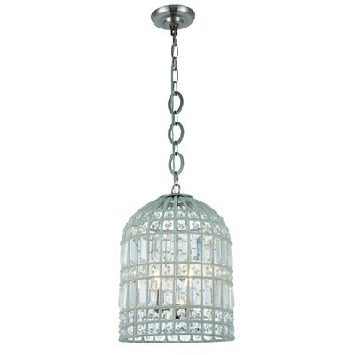 Hayley 3-Light LED Mini pendant Finish: Polished Nickel