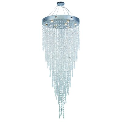 Carmel 8-Light Crystal Chandelier