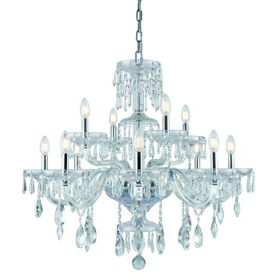 Deeanna 12-Light Candle-Style Chandelier