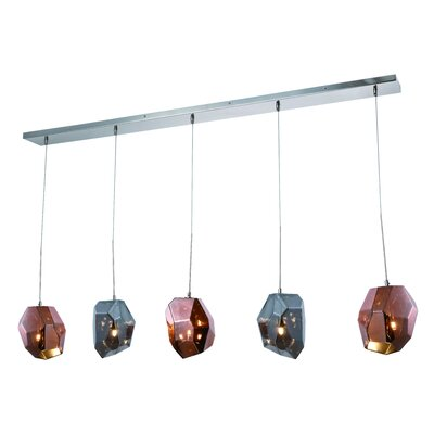 Cooley 5-Light LED Kitchen Island Pendant